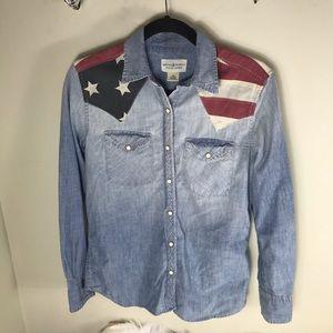 f671f54eab Denim   Supply Ralph Lauren Tops - Ralph Lauren Denim   Supply American  flag shirt
